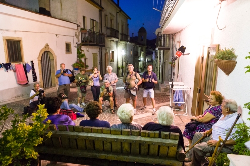 WORKSHOP A CELLE SAN VITO (FG) - luglio 2012